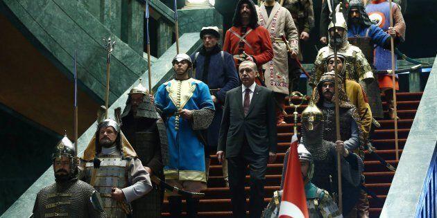 Les ambitions «ottomanes» d'Erdogan se heurtent à de nombreux obstacles dont il est en grande partie...
