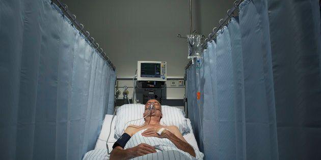 Les rideaux d'hôpitaux sont des nids à