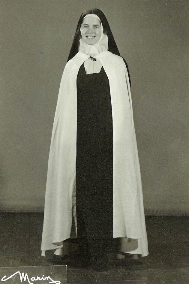 Andréa Richard, Carmélites, en 1970.