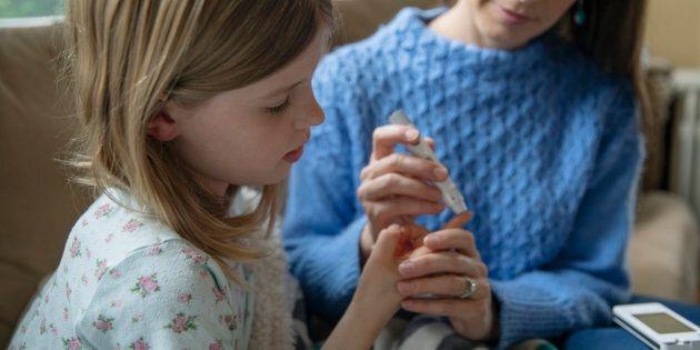 Diabète de grossesse chez la mère, risque de diabète de type 1 chez