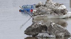 Inondations: les autorités sont sur un pied