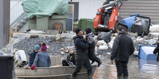 Inondations: la Croix-Rouge lance un fonds