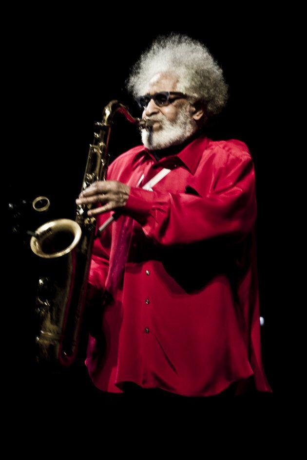Le saxophoniste américain Sonny Rollins lors du Festival de jazz de Copenhague le juillet