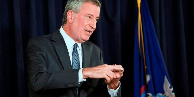 Le maire de New York Bill de
