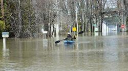 Inondations: le nombre de sinistrés