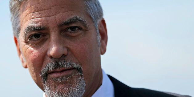 L'acteur américain George Clooney, d'origine arménienne, a assisté à une cérémonie commémorant les Arméniens...