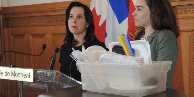 Montréal «part en guerre» contre le plastique à usage