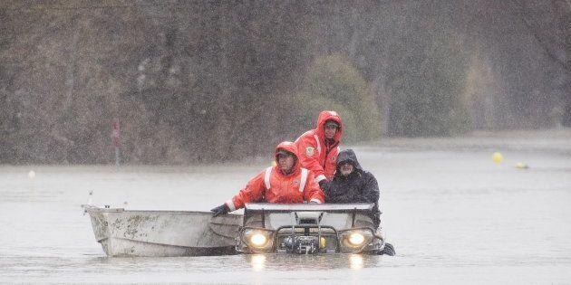 Des évacuations ont eu lieu vendredi à