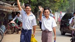 2 Reuters Journalists Jailed In Myanmar Freed After 500 Days In