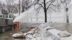 Inondations: les autorités dérangées par des curieux prenant des