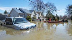 Inondations: les citoyens de Sainte-Marthe-sur-le-Lac reviennent à la