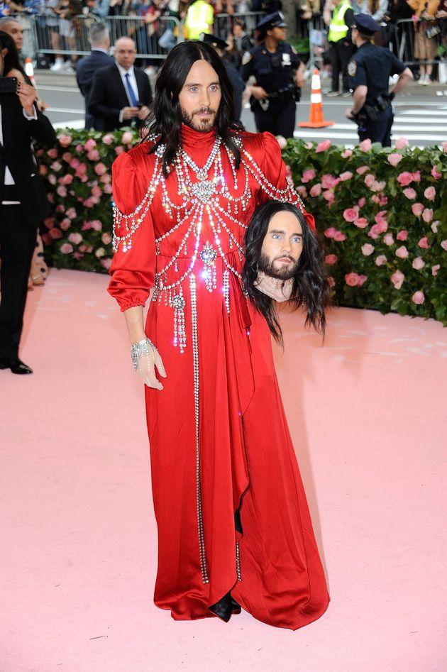 El macabro e inquietante accesorio de Jared Leto en la Gala