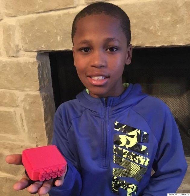 À 10 ans, il crée un gadget pour empêcher les enfants de mourir dans une