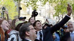 Trudeau, Couillard et Coderre lancent l'anniversaire de la fondation de