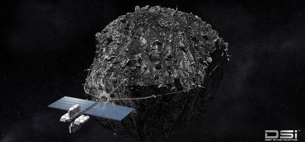 Le minage d'astéroïde vu par Deep space