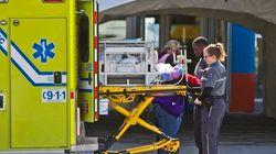 Montérégie: les paramédicaux syndiqués à la CSN entrent en