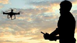 Un drone transporte de la marchandise de contrebande dans une prison de