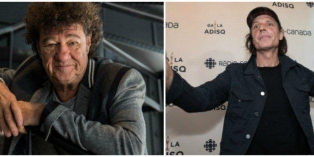 Robert Charlebois et Jean Leloup célébrés au Festival international de la chanson de