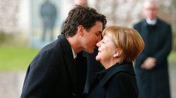 Rencontre Merkel-Trudeau à