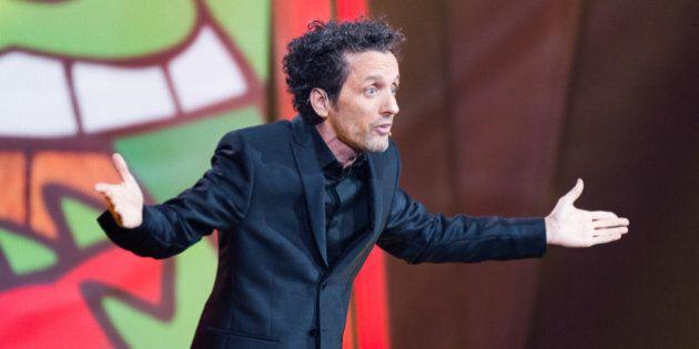 Juste pour rire: André Sauvé «en concert» avec l'Orchestre symphonique de