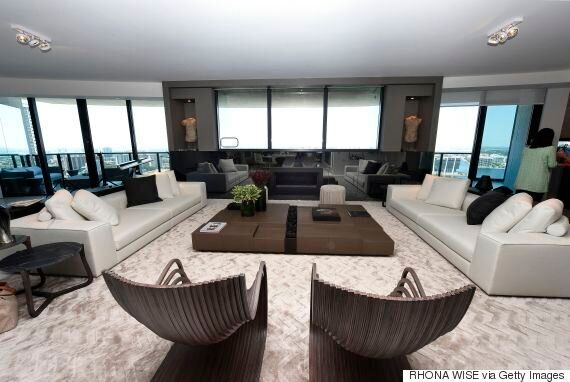 À Miami, les riches peuvent garer leur voiture dans le salon