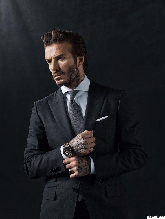 David Beckham est le nouvel ambassadeur hot de la marque d'horlogerie