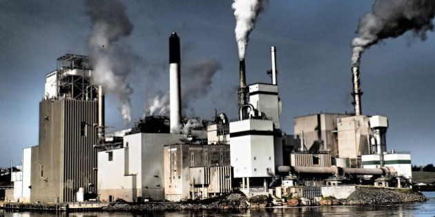 Paper Mill in St. John,