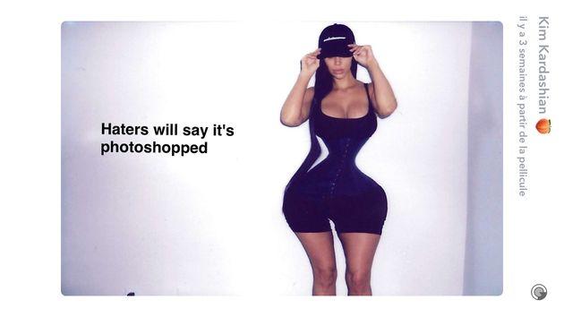 Kim Kardashian répond avec humour à ceux qui l'accusent d'utiliser