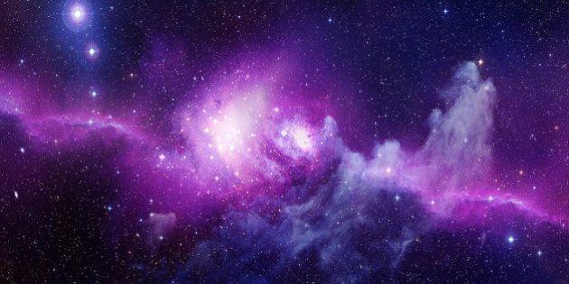Universe filled with stars, nebula and