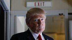 Le décret migratoire bloqué, Trump en
