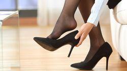 Peut-on imposer aux femmes de porter des talons hauts au