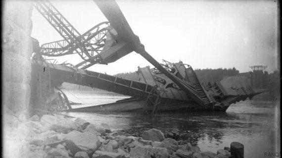 Des Mohawks pour construire le pont