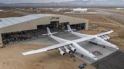 Première sortie pour le Stratolaunch, un avion géant financé par le cofondateur de