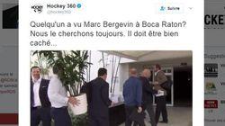 Marc Bergevin amuse les journalistes en «se cachant» derrière une