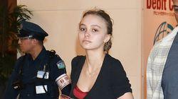 Lily Rose Depp sans maquillage et en