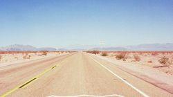 La mythique Route 66 en pleine