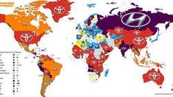 Qui sont les constructeurs automobiles les plus recherchés dans