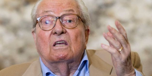 French far-right Front National (National Front - FN) party founder and former leader Jean-Marie Le Pen...