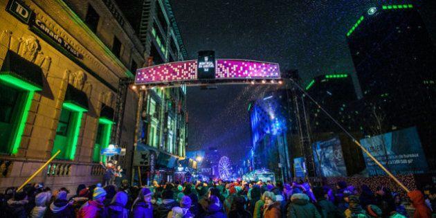 Nuit blanche: Montréal s'active toute la