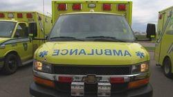 Des ambulanciers en grève
