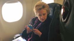 Cette photo de Clinton traduit parfaitement la cruelle ironie de l'élection