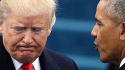 Trump accuse Obama de l'avoir placé «sur