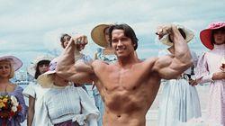 Arnold Schwarzenegger à Warwick cet