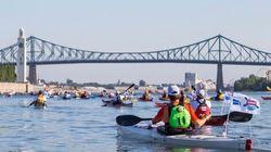 Le Défi Kayak Montréal-Québec est de