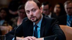 Un opposant russe empoisonné témoigne au Congrès