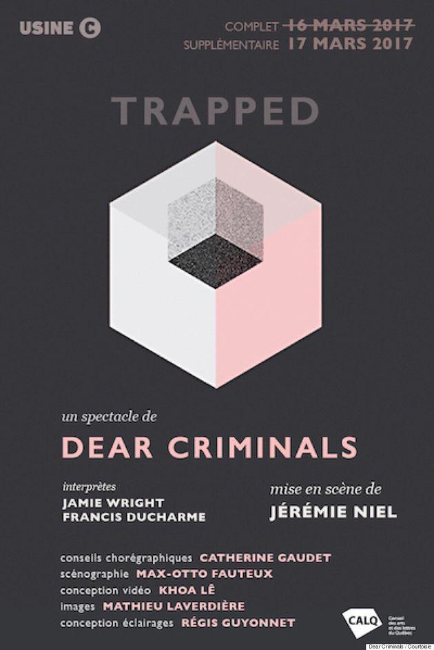 «Trapped»: Dear Criminals et leur nouvelle œuvre d'art