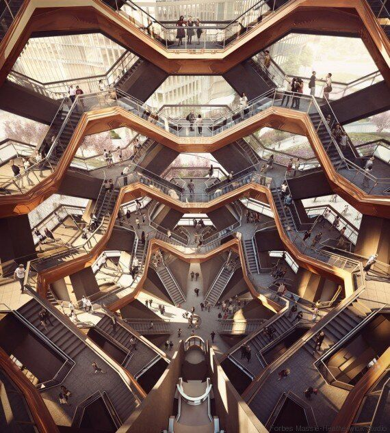Ce projet d'escalier géant à New York va vous donner le tournis