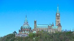 Coup d'œil aux travaux de rénovation de la colline du Parlement