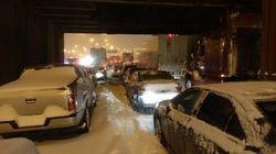 Trois récits du cauchemar blanc sur l'autoroute 13 à
