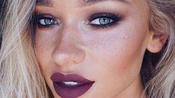 Trois façons d'adopter le rouge à lèvres violet pour